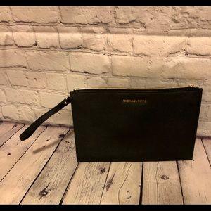 Michael Kors portfolio bag black